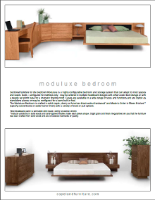 Downloadable Moduluxe Collection Spec Sheet
