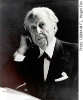 portrait: Frank Lloyd Wright