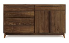 Catalina 4 Drawers on left, 1 Drawer over 2 Doors on right Buffet