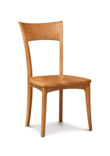 Ingrid Sidechair in Cherry with Wooden Seat