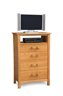 Monterey 4 Drawer Chest + TV Organizer