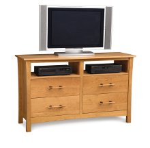 Monterey 4 Drawer Dresser + TV organizer
