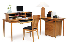 Sarah Desk, Return, Desktop Organizer and Rolling File