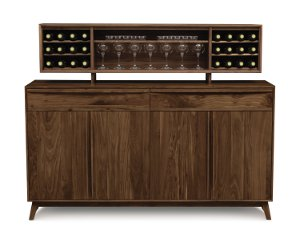 Catalina 2 Drawers over 4 Door Buffet and Hutch