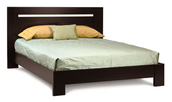 Horozon Bed with Low Footboard