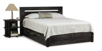 Horizon Storage Bed with Low Footboard