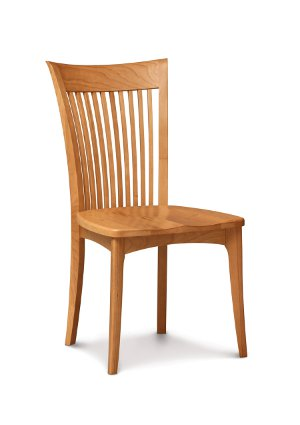 Sarah Sidechair with Wooden Seat
