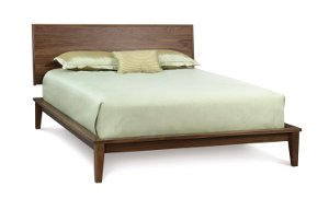 SoHo Panel Bed in Walnut
