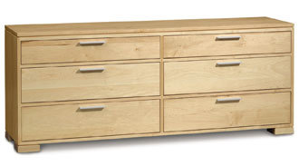 Sutton 6 Drawer in Maple