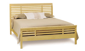 Harbor Island Bed with High Footboard