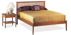 Sarah Spindle Bed with Low Footboard