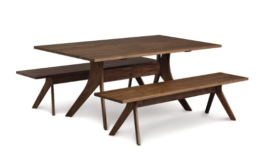 Audrey 40in x 72in Fixed Top Table