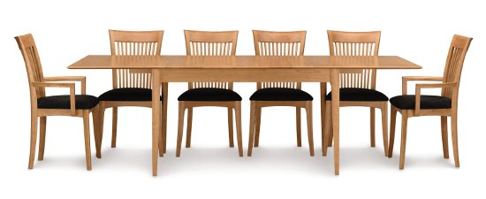 Sarah Four Leg Extension Dining Table