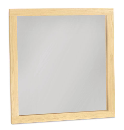 Sutton Wall Mirror in Maple
