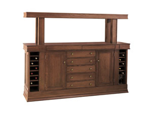 Dana-Thomas Grand Buffet and Optional Shelf