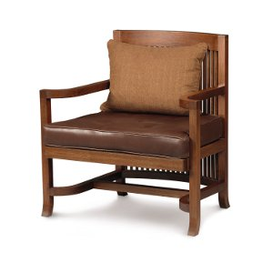Heurtley Spindle Back Chair and Ottoman