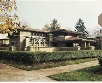 Frank Lloyd Wright : The Meyer May House