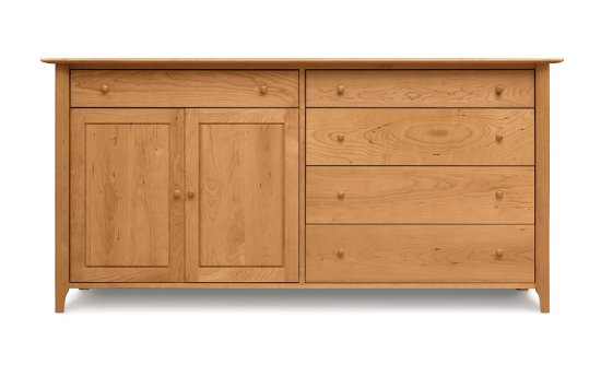 Sarah 4 Drawers on right, 1 Drawer over 2 Doors on left Buffet